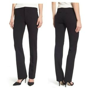 NYDJ black stretch knit trouser pants